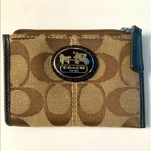 Coach Change purse never used!